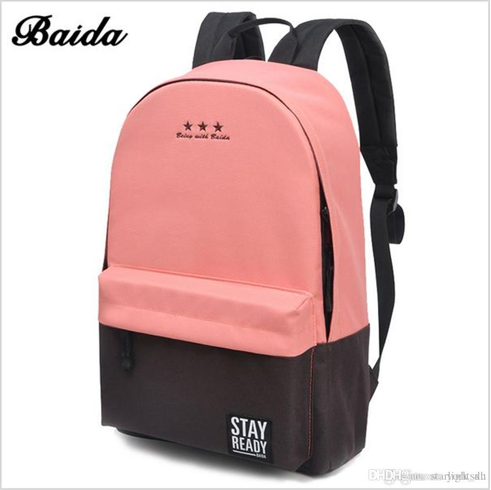The 2017 Hot Fashion Models Fashion Bag Backpack School Women'S ...