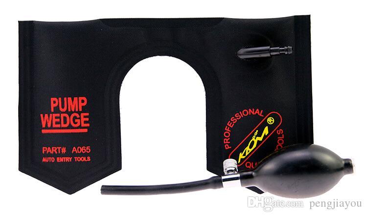 KLOM Bomba Wedge Preto Pequeno / Médio / Grande / Em Forma de U Fechadura Da Porta Do Carro Pick Set Kit de Ferramentas de Bloqueio Do Carro Bloqueio Automotivo Ferramentas de Escolha