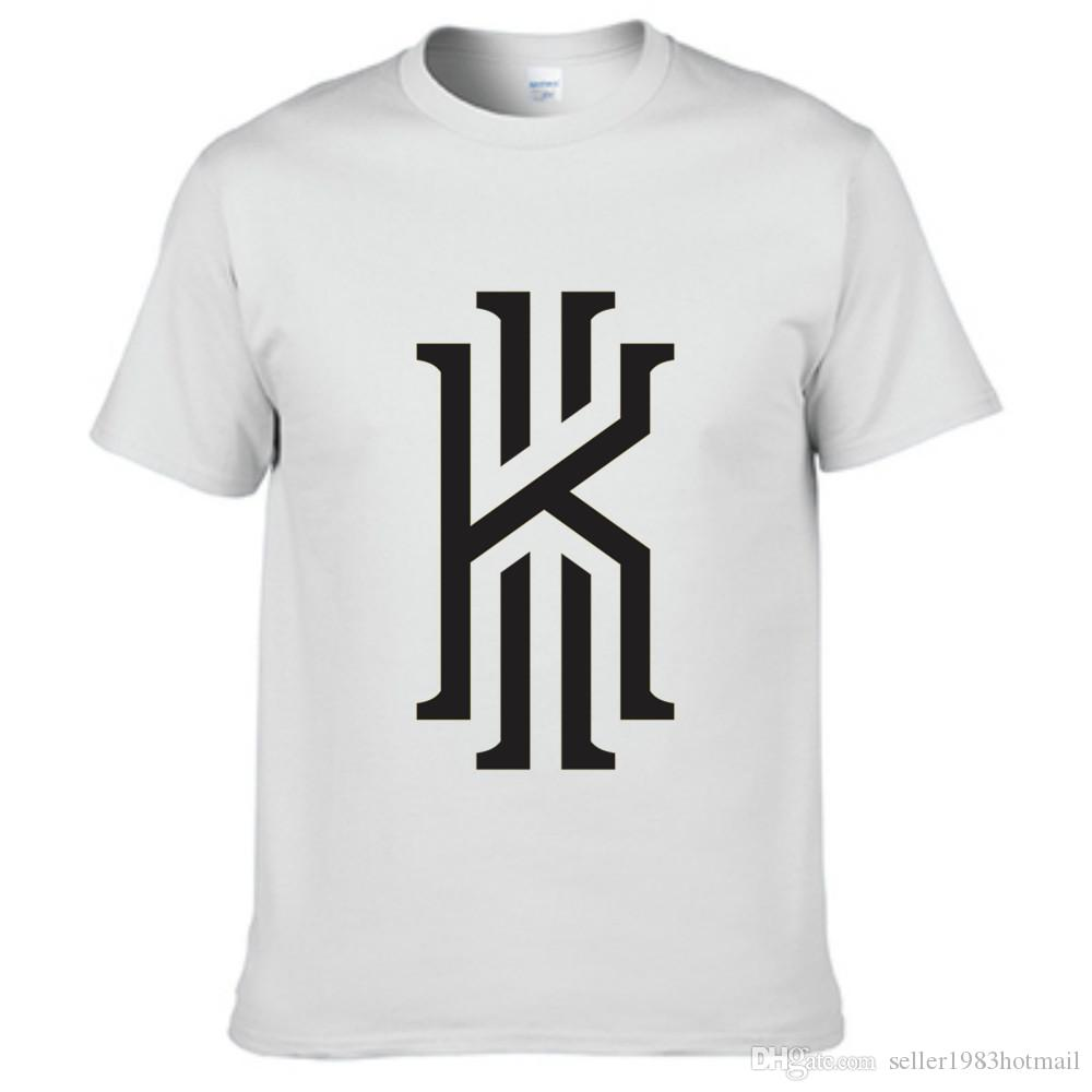Super Kyrie Irving Logo Men'S T Shirt Off White Black Grey Sport Color  IP89