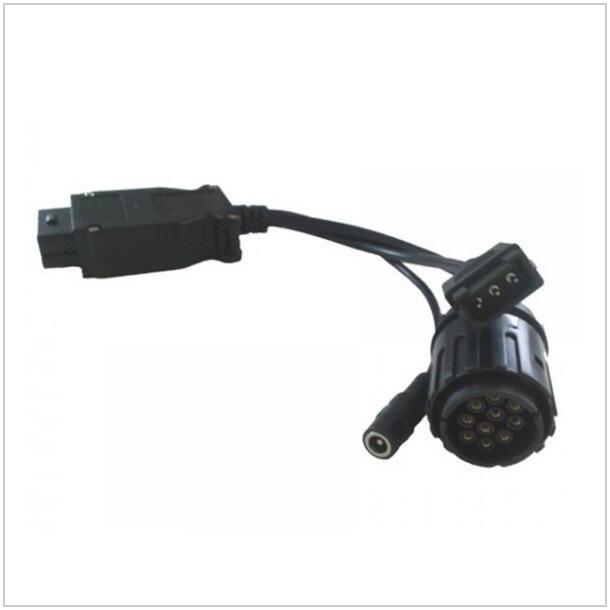 BMW ICOM için ALKcar 1 adet Motosiklet kablosu Icom D modülü 10pin, BMW için 10 pin ICOM D Modülü adaptörü Motosiklet teşhis Ücretsiz Gemi