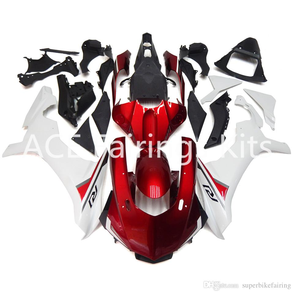 3 free gifts Complete Fairings For Yamaha YZF 1000-YZF-R1-15 YZF-R1-2015 Motorcycle Full Fairing Kit Red b16