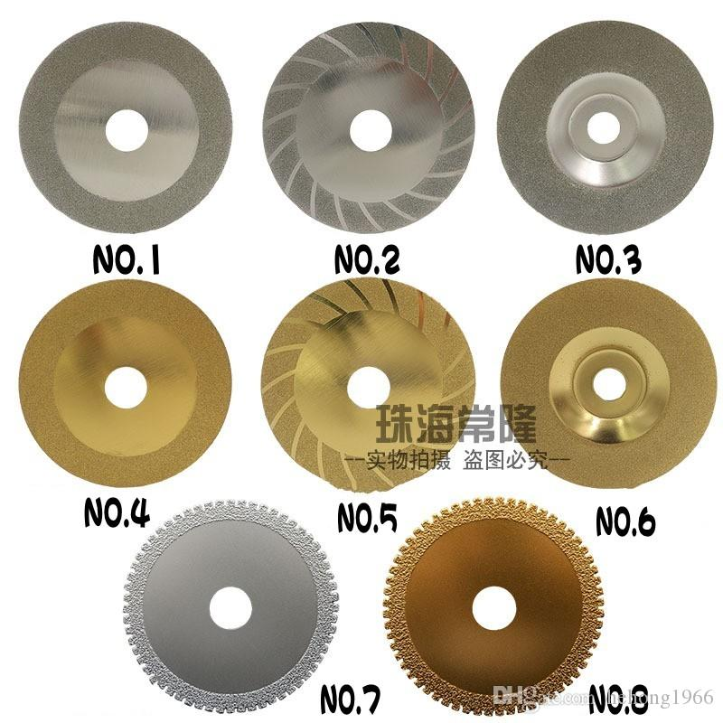 Electroplate Cutting Disc Diamond Saw Bit Alloy Web Sand Round Grinding Section Cut Wood Metal Tile High Quality 6 5cz H