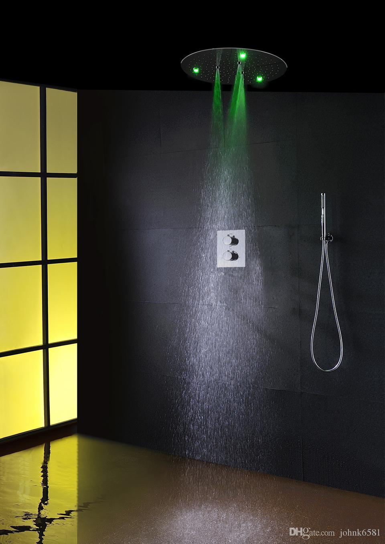 100V~240V Alternating Current LED Round Head Shower Easy-install Box ...