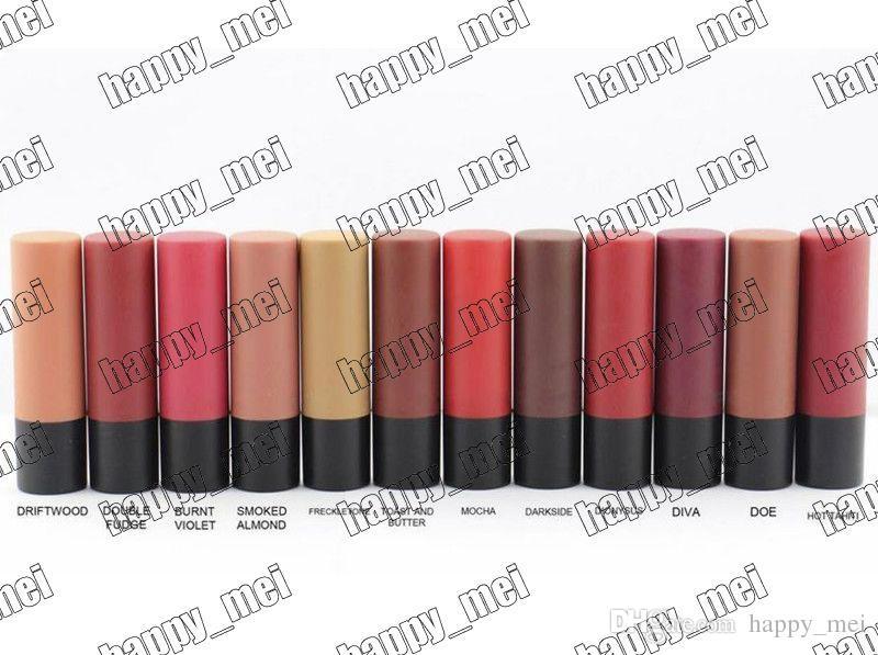 Factory Direct DHL Gratis frakt Nya Makeup Lips M5544 Matt Läppstift! 12 olika färger