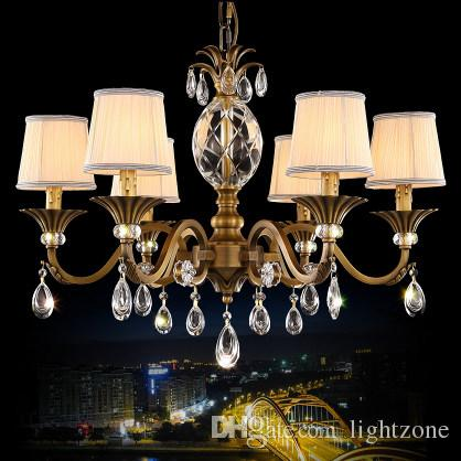 Chandeliers european american style luxurious elegant vintage copper chandeliers european american style luxurious elegant vintage copper crystal chandeliers lighting brass chandelier led pendant lamp white chandelier orb aloadofball
