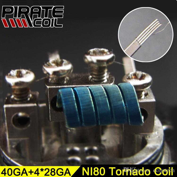 Newest Pirate Four Clapton Tornado Heating Coils
