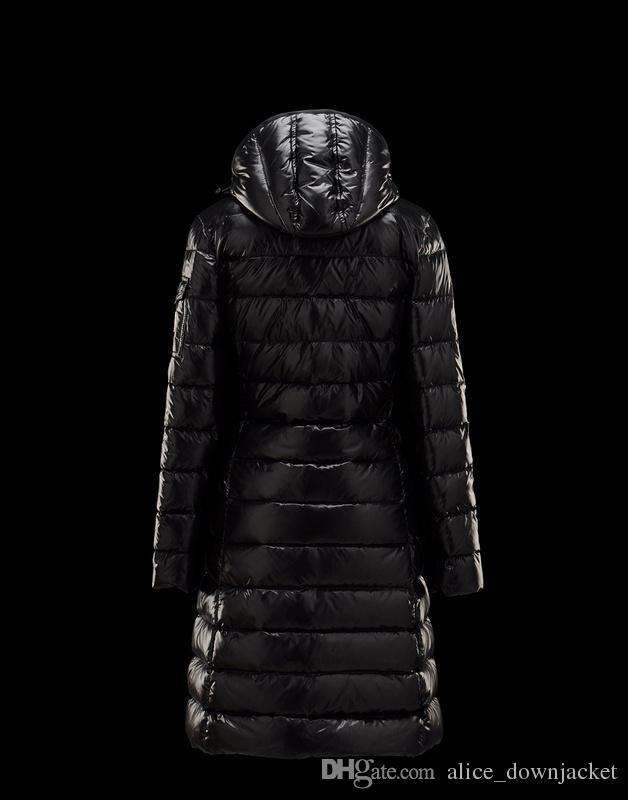 New brand women down jackets black red white women's winter coats 90% white duck down waterproof windproof hooded warm womens long parkas
