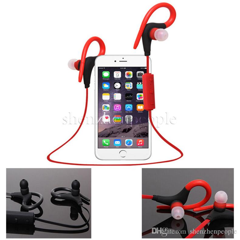 BT-1 Tour Bluetooth Earphone Sport Running Stereo Earbuds Wireless Neckband Headset Headphone with Mic for Universal Cellphones MP3