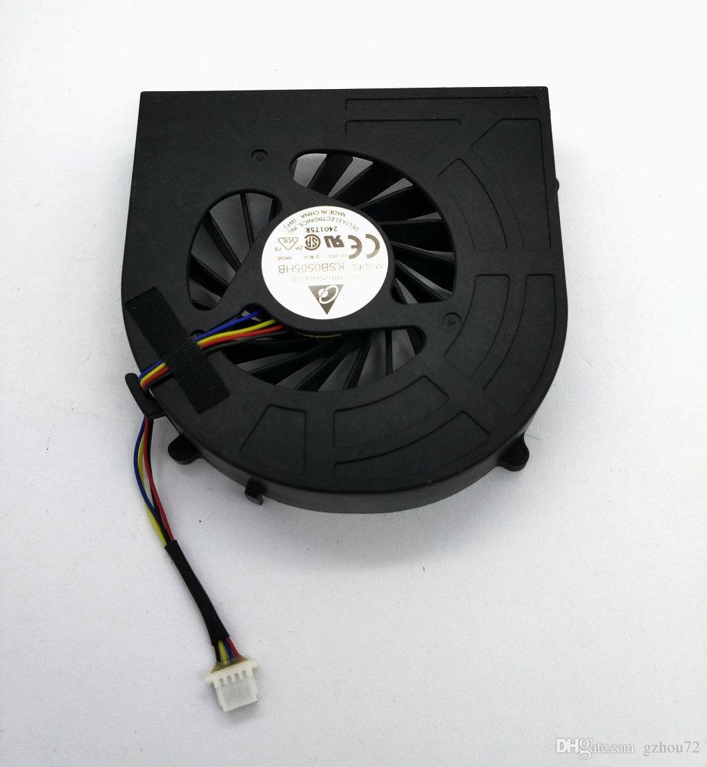 HP Probook 4520 4520s 4520s 4720S KSB0505HB-9H58 DC5V 0.40A 용 쿨러 라디에이터 팬 냉각 용 새 원본 노트북 CPU