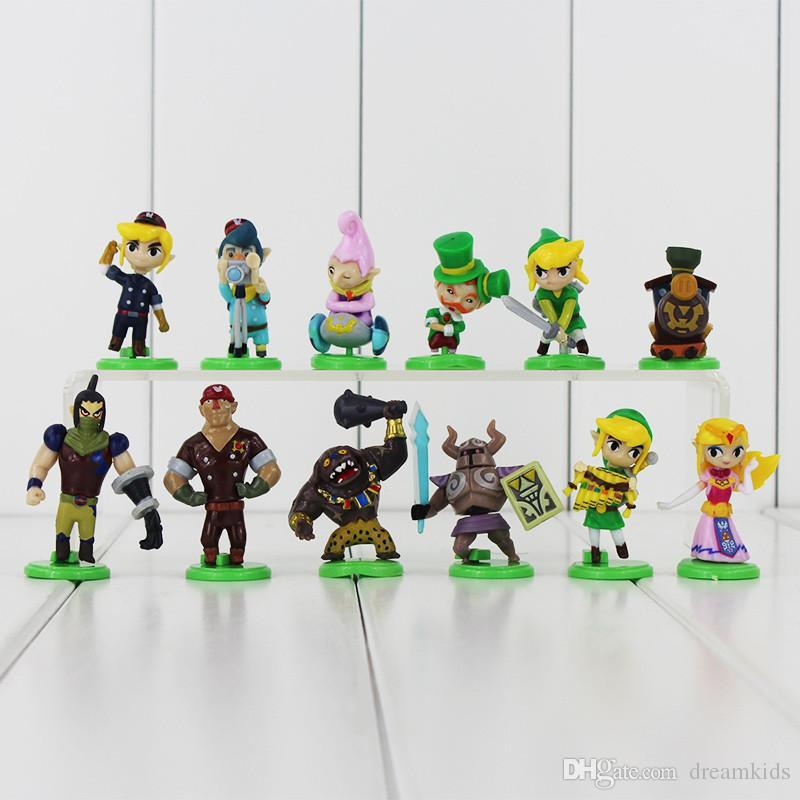 The Legend of Zelda Furuta Choco Egg PVC figures Collection Toys Model Dolls Kids Gifts 3.5-5.6cm