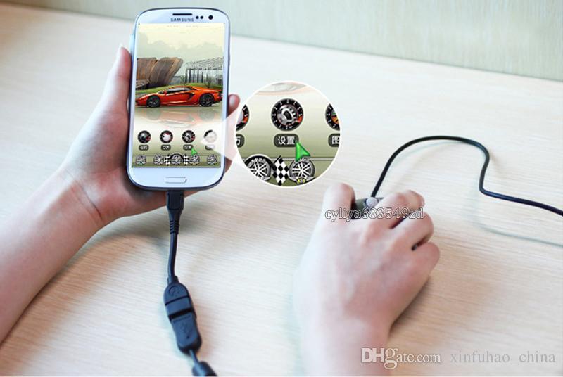 Adaptador del cable del cargador de datos del anfitrión OTG del host OTG del adaptador USB de 5 pines de USB A a Micro