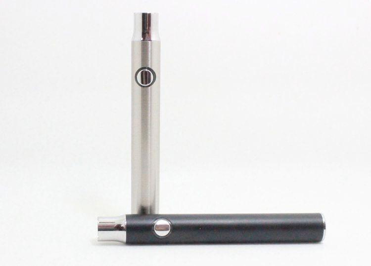 Ön ısıtma Batarya Ön Isıtma Düğmesi Ayarlanabilir Değişken Gerilim O-kalem BUD Pil Wax Yağ Kartuşu için 350 mAh Buhar kalem 510