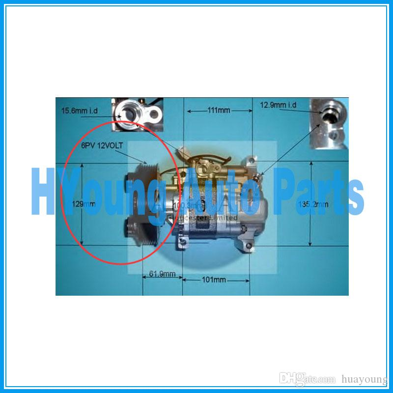 Air Conditioning & Heat Back To Search Resultsautomobiles & Motorcycles H12a1ag4dy Bp4k61k00 Auto Ac Compressor For Car Mazda 3 1.6l 2003-2009 For Sale