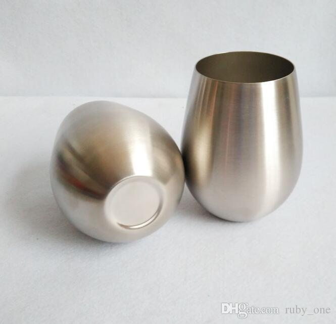 Stainless Steel Cup Drinkware Kitchen Tools Stemless Wine And Cocktail Glasses Kitchen Bar Drinking Holder Vovotrade KKA1645