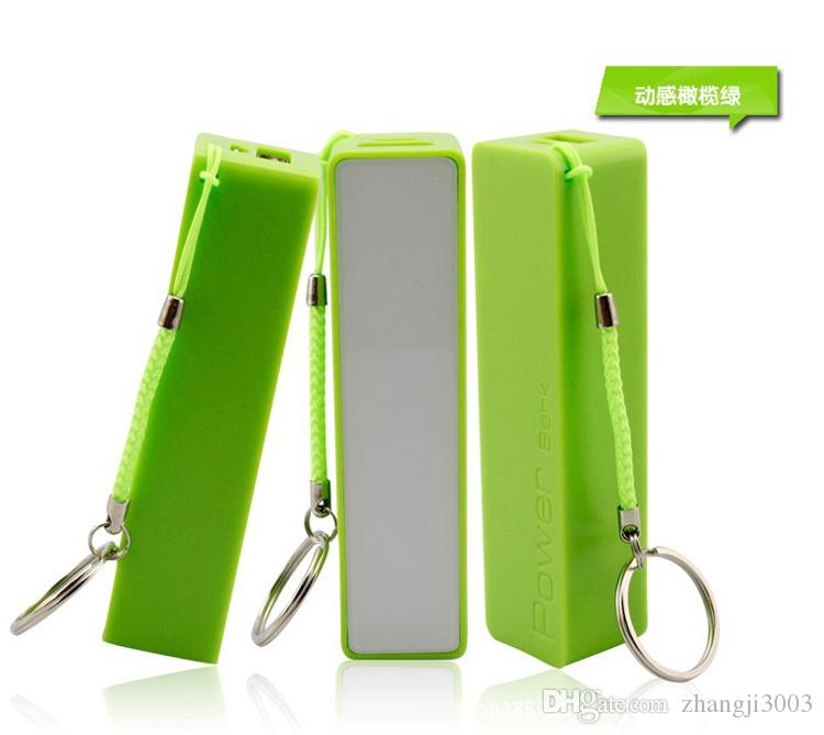 New Style 2600mAh Power Bank USB External Battery Portable Power Banks Charger For iPhone 6s Samsung s6 Android Phones