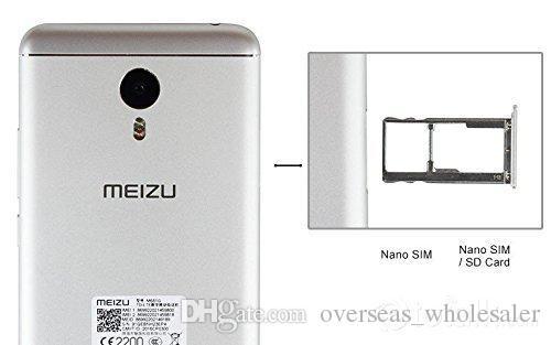 Sbloccato originale Meizu Meilan Nota3 M681Q Smart Phone Flyme Helio P10 Octa Nucleo 2GB / 3GB di RAM 16GB / 32GB ROM 5.5
