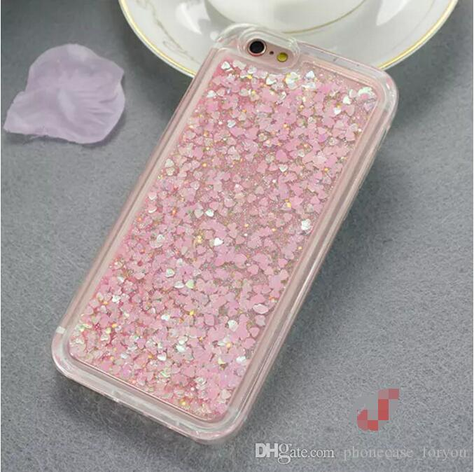 High Quality For ZTE Zmax Pro Z981 Avid Trio Z831 Metro Bling Transparent TPU Water Glitter Case Mobile Phone Case