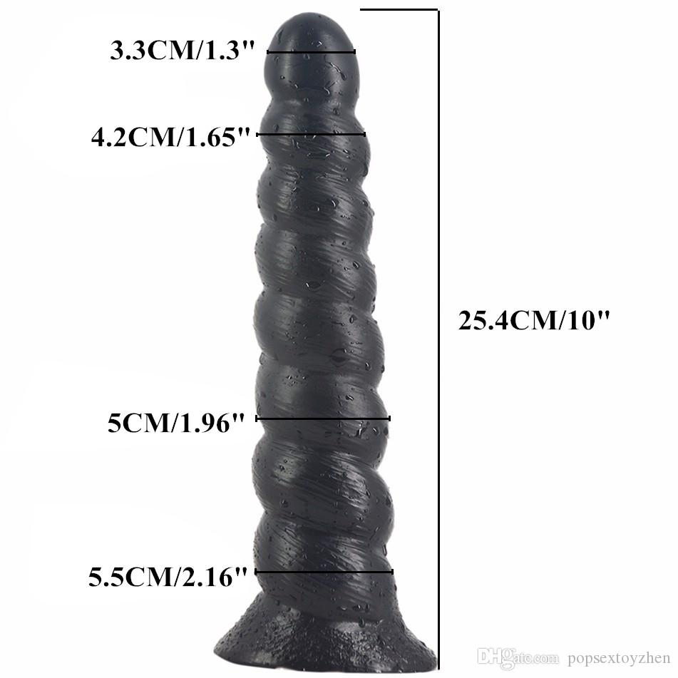 10 Inch Long Anal Dildo Silicone Anal Plug Big Anal Dildo Butt Bead Sex Toys Gay Anus Sex Products for Men Women