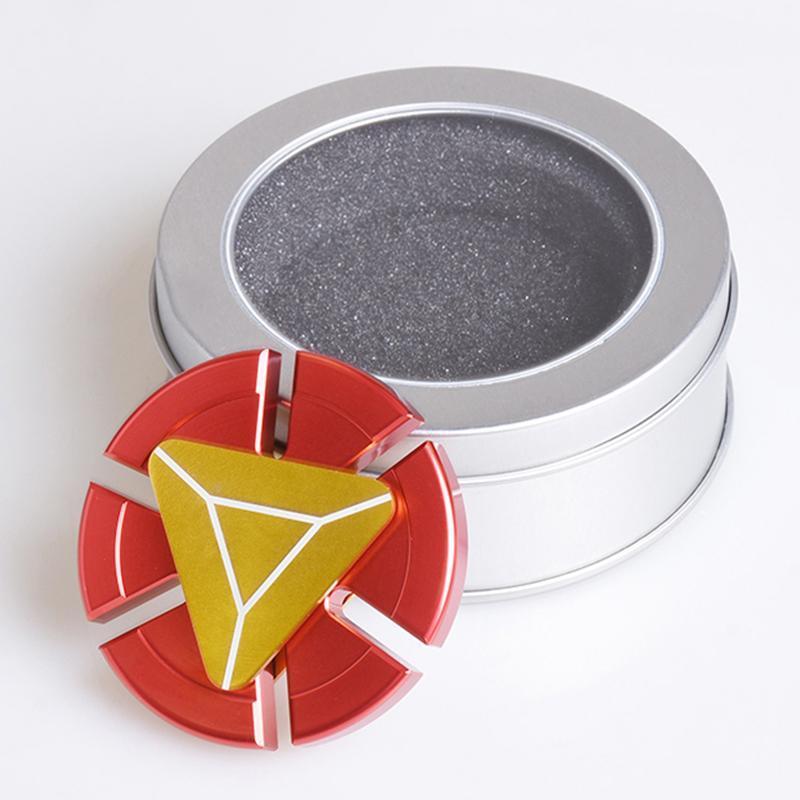 Metal Iron Man Edc Tri Spinner Fid Toys Hand Spinner Metal Fid