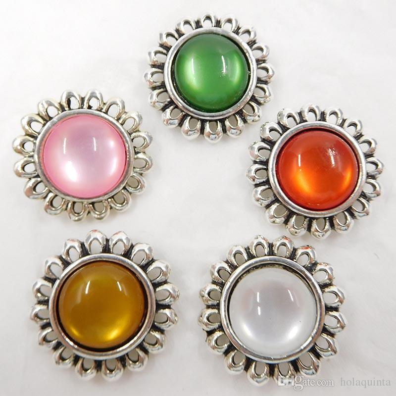 noosa chunks ginger snap buttons cat eye press snap jewelry wholesale
