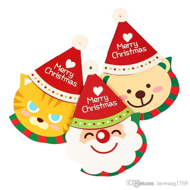 Großhandel 3 Stück Verschiedene Form Weihnachtskarte Mit Umschlag ...
