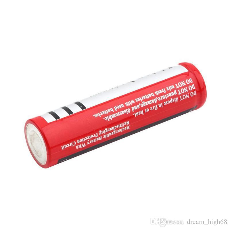 UltraFire 18650 4200mAh Batería recargable de ión de litio de alta capacidad de 3,7V para la cámara digital LED Flouslight Cargador de batería de litio