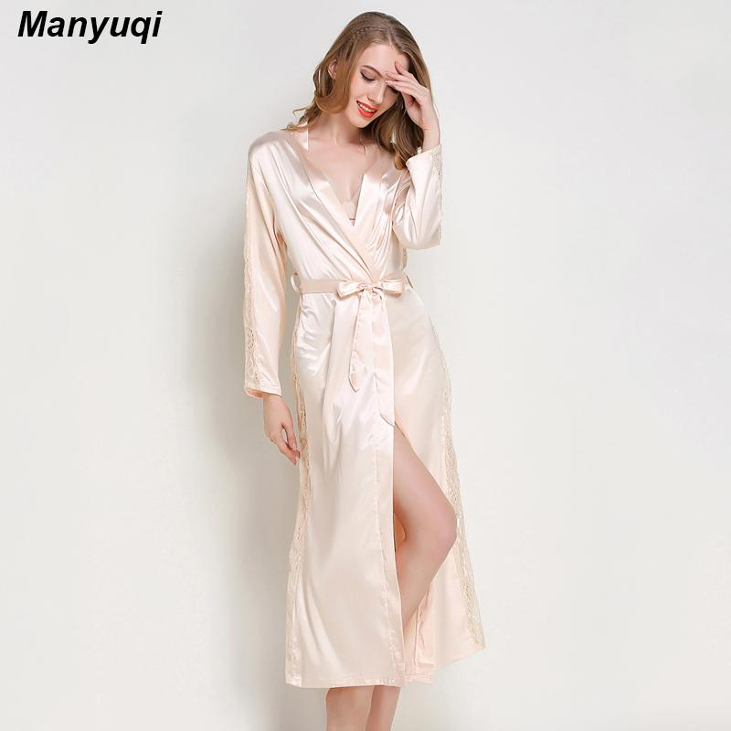 2018 Wholesale Summer Women\'S Dressing Gown Side And Sleeve ...