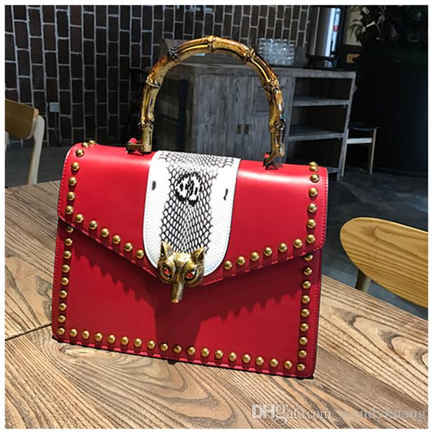Fox Head Cheap Fashion Women Designer Handbag Brand Name Famous ...