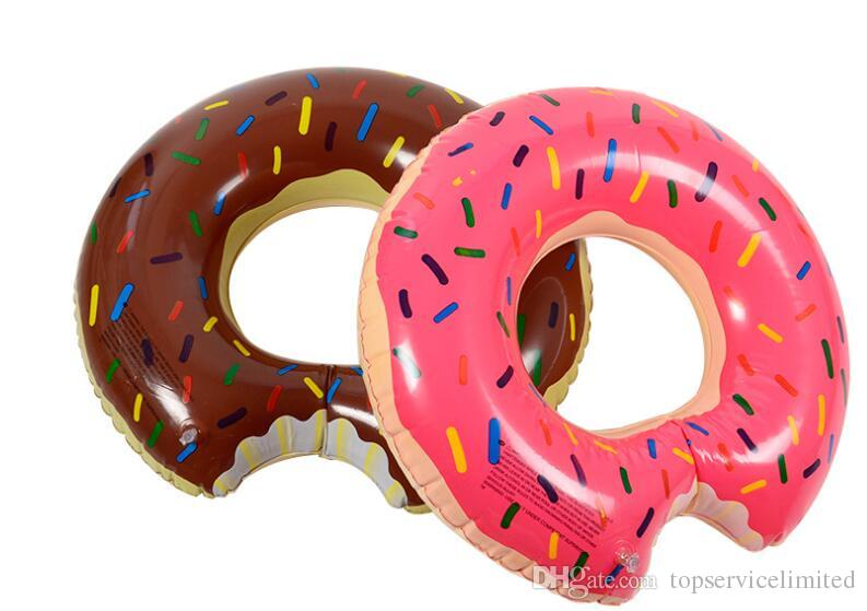 Swimming Pool Float Gigantic Donut Inflatable Pool Float Raft Beach Toys Gigantic Donut Pool Float Lake Toy For Adult Floats