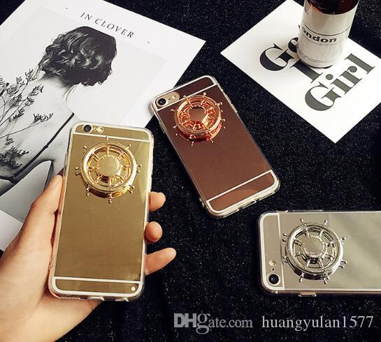 Fidget Spinner Hot Fashion Mobile Phone Accessor Phone Holder Spinner Hand spinner Aluminium Alloy Metal With Retail Box