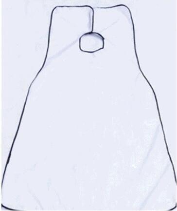 New Fashion Man Banheiro Barba Bib High-Grade Poliéster À Prova D 'Água Pongee Barba Cuidado Trimmer Shave Avental 120 * 80 cm