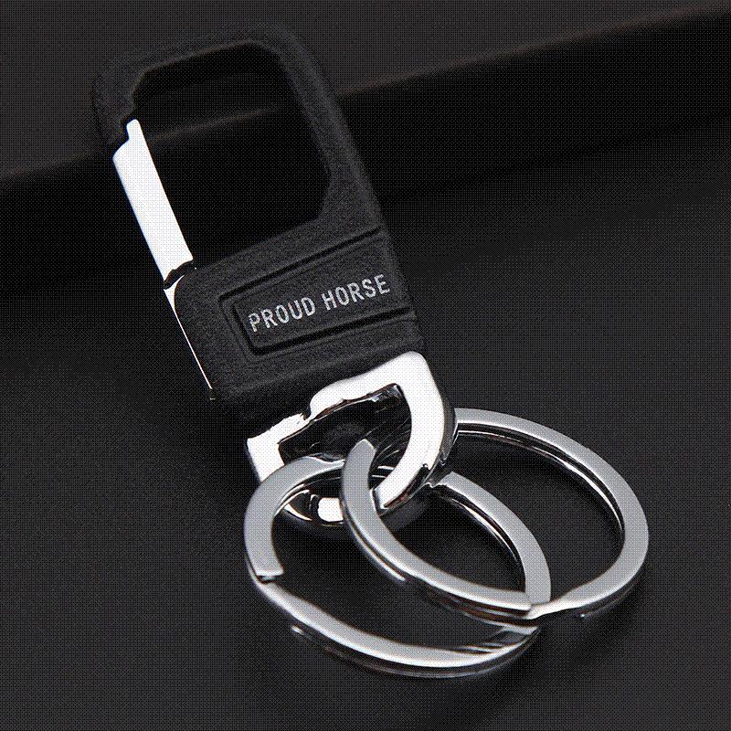 Grosshandel Manner Auto Keychain Mode Llaveros Hombre Edelstahl Mann