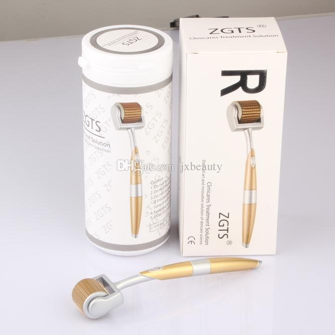 192 Pins Titanium Needles ZGTS Derma Roller Skin roller for Cellulite Anti Aging Age Pores Refine