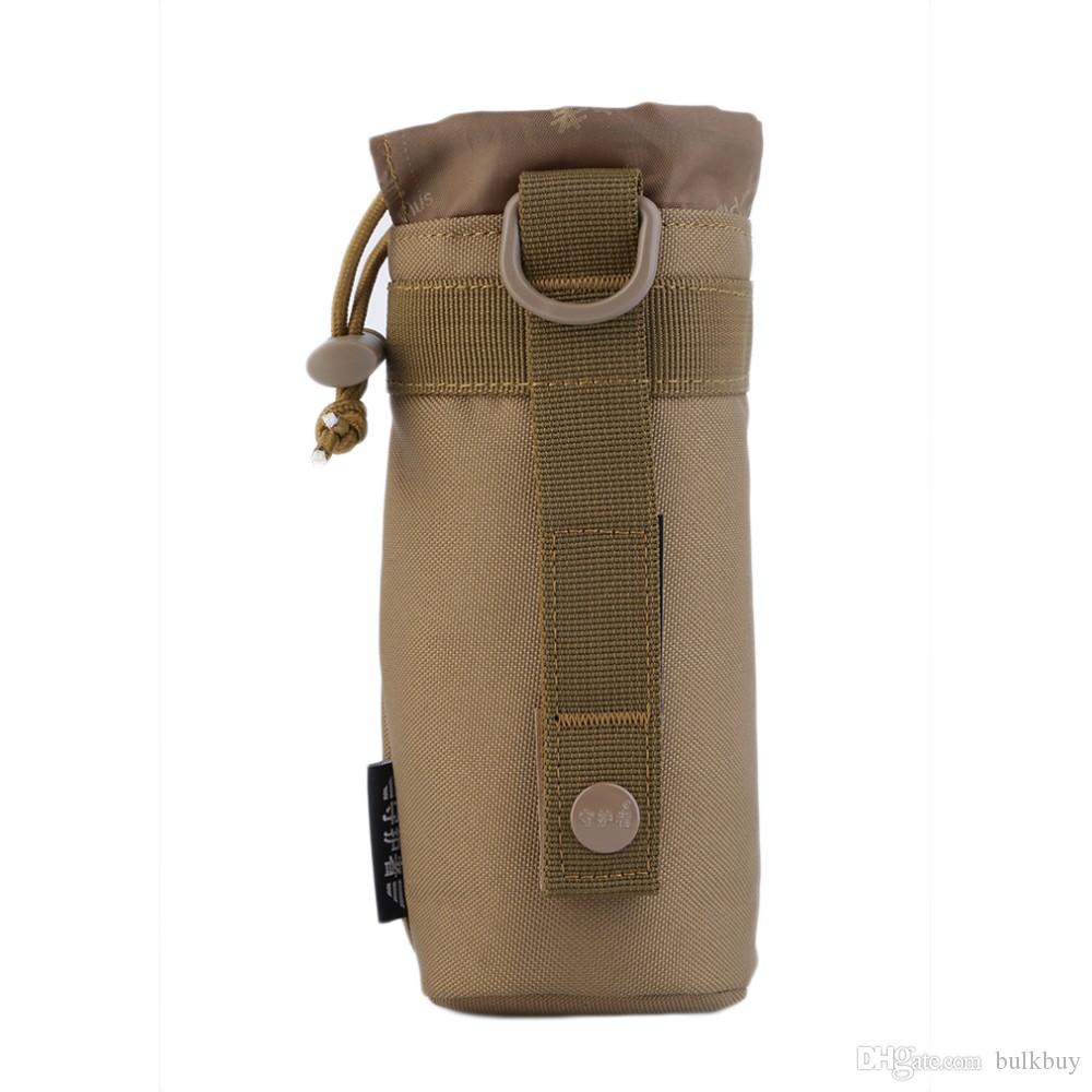 في الهواء الطلق التكتيكية جير النظام العسكري زجاجة ماء حقيبة غلاية الحقيبة حامل بالجملة
