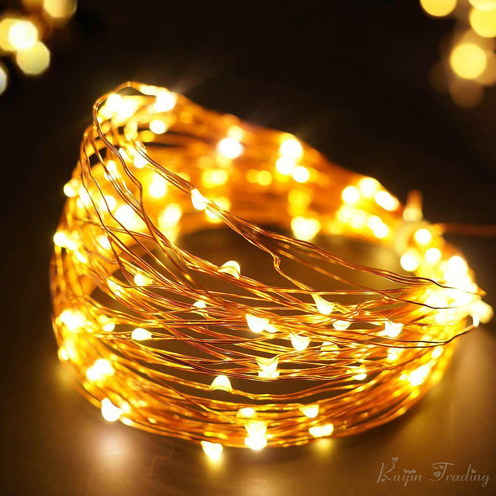 Wholesale led strip 10m 100 led outdoor garland christmas wedding wholesale led strip 10m 100 led outdoor garland christmas wedding party decoration 2m 5m fairy light string gold copper battery operated c9 led christmas aloadofball Gallery