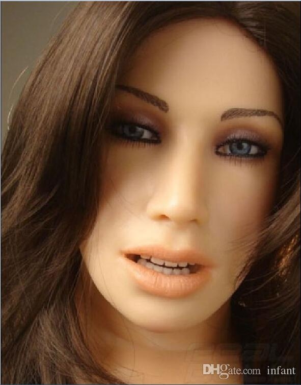 Muñeca del sexo modelo, muñeca semisólida inflable del amor del silicón, productos del sexo, vagina virginal, regalo