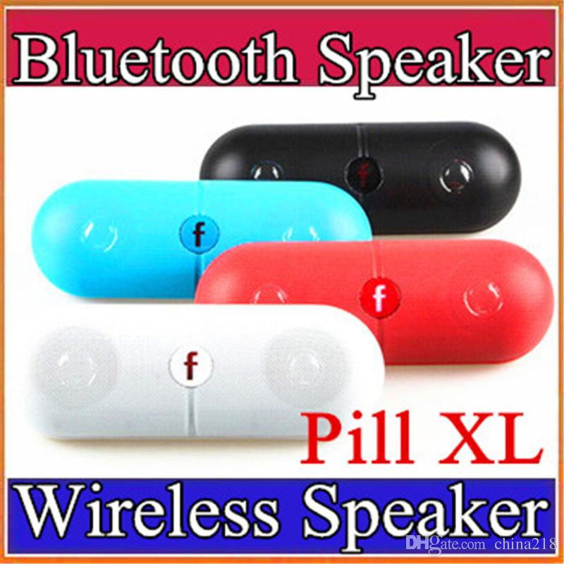 Pill XL Bluetooth Mini Speaker Protable Wireless Stereo Music Sound Box Audio Super Bass TF Slot Hands-free MP3 Player With Handle E-YX
