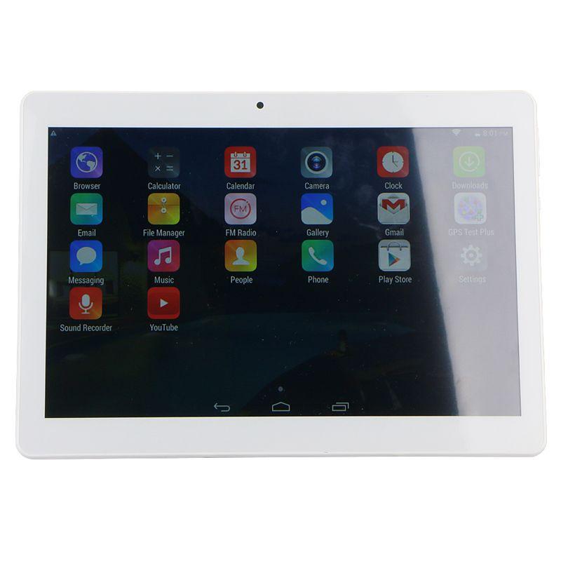 DHL-Qualität 10 Zoll MTK6572 MTK6582 IPS kapazitiver Touch Screen Doppel-sim 3G Tablettentelefon-PC 10