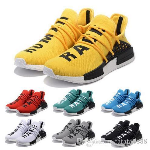 Nmd Human Race Boost Pharrell Williams X Running Shoes
