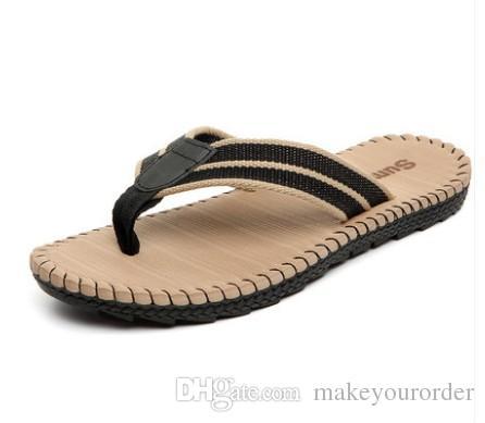 뜨거운 판매 패션 여름에는 해변 신발과 남성 샌들 남성용 새 여름 슬리퍼 313