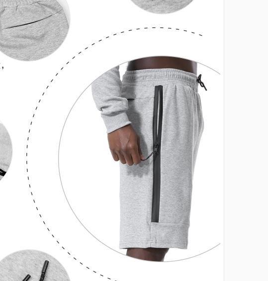 Pantalones cortos de algodón de alta calidad para hombre Verano 2018 Moda de playa El bolsillo Deportes Pantalones cortos ocasionales Venta caliente