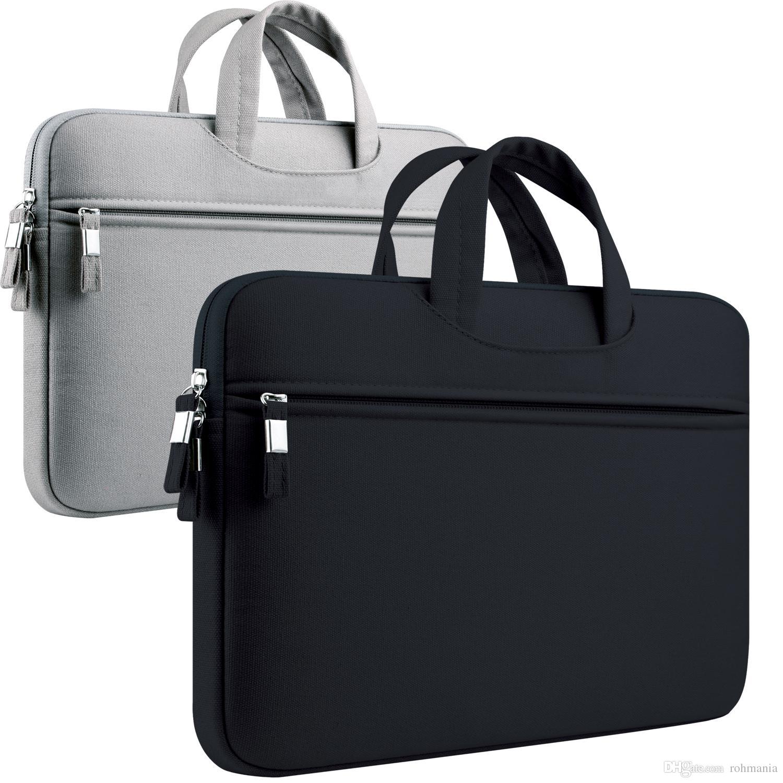 c593231938 Acheter 11 13.3 Pouce Housse Ordinateur Portable 11.6 12 13 Pour Apple  MacBook Air Pro Housse Etui Rétine Housse De Protection Sacoche Ultrabook  Sac De ...