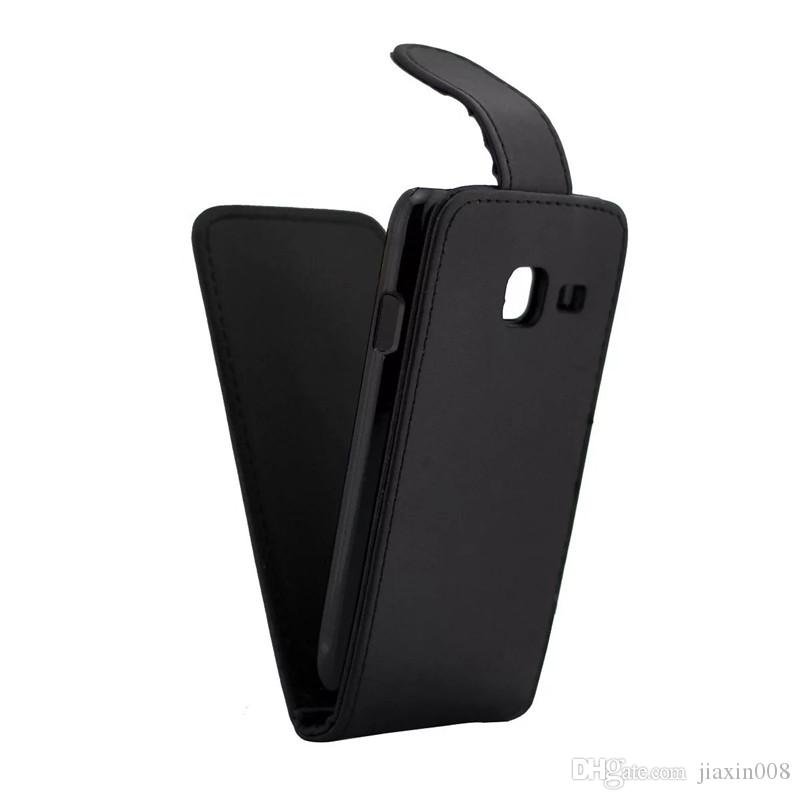 Flip Cover For Samsung Galaxy J1 Mini J105F phone case Back coque PU leather Vertical Up-Down Open skin pouch