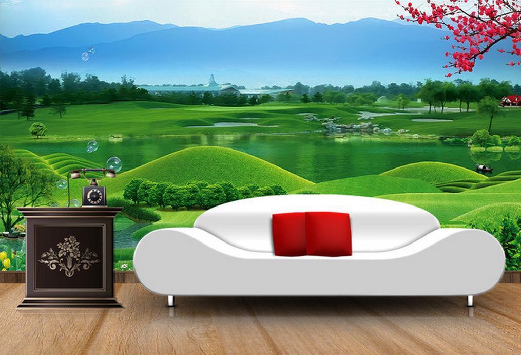 Großhandel Landschaft Bild Tv Hintergrund Wandmalerei Gemälde Rahmenlose  Malerei Malerei Von Wallpaper20151688, $16.39 Auf De.Dhgate.Com | Dhgate