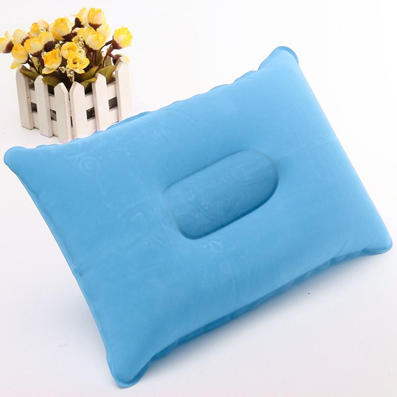 2018 Inflatable Air Shower Pillow Cushion Pvc + Flocking Neck Rest ...