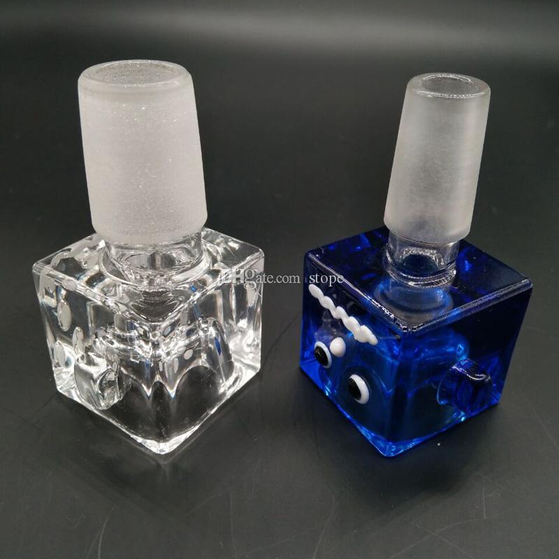 Più nuovo stile colorato maschio ciotola di vetro pipa ad acqua tubo di tabacco ciotola di vetro bong tubo di fumo spedizione gratuita