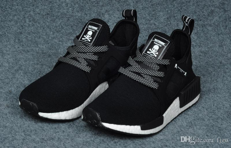 [$200] adidas nmd xr1 pk primeknit boost black blue glitch