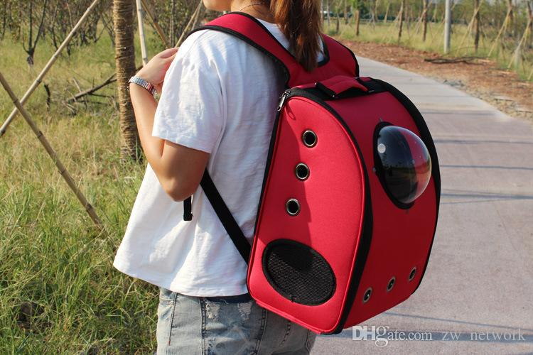 df08d9525a DHL!Space Cabin Dog Carrier Breathable Pet Carrier Backpack Pet ...