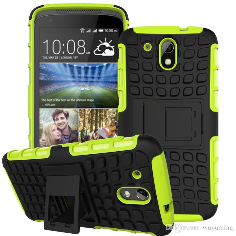 Pour HTC Desire Prime Cas Anti-knock Silicone En Plastique Téléphone Case Pour HTC Desire Grand Prime Couverture Pour HTC Desire 526 526G +
