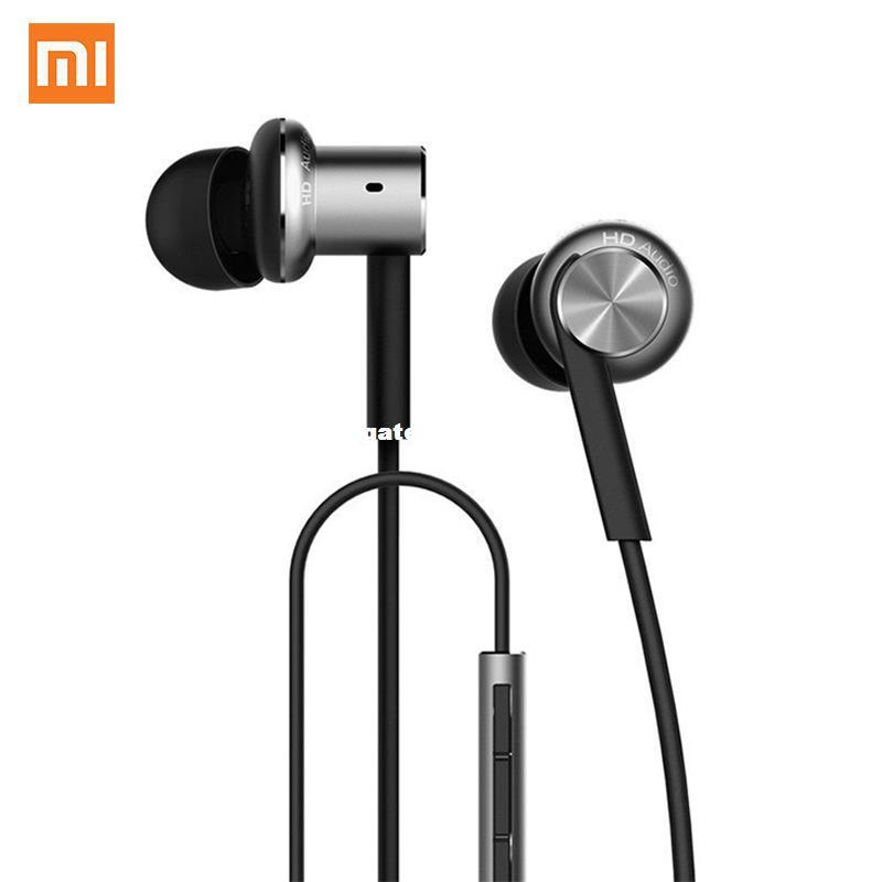 ec54bc4ddd4 Original Xiaomi Hybrid Pro HD Earphone Circle Iron Wired Earset Noise Cancelling  Mi In Ear Headset For Mi6 Fone De Ouvido Best Headphones Under 100 Head ...